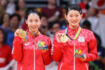 タカマツペアがバド日本勢で初の金メダル