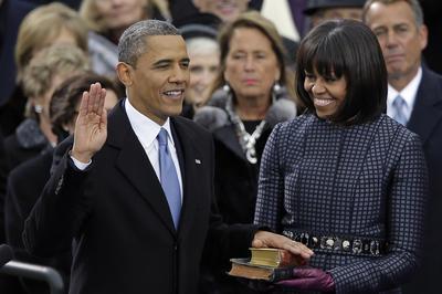 オバマ大統領2期目就任式(2013年1月21日)