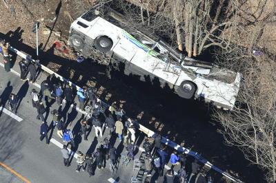軽井沢でスキーバス転落事故 (2016年1月15日)