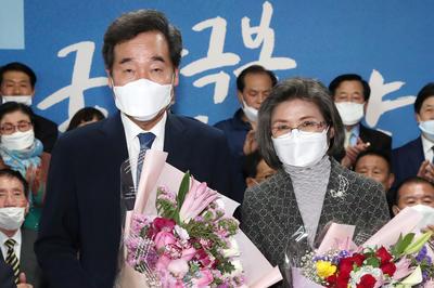 4月15日 韓国総選挙 政府のコロナ対策評価され与党が圧勝