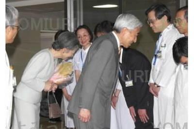 天皇陛下、がん摘出手術 (2003年1月18日)