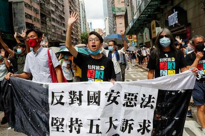 6月末-7月 香港、国家安全維持法施行で「一国二制度」崩壊の危機に