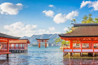 中国地方の風景