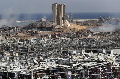 8月4日 レバノン首都で大規模な爆発 150人以上が死亡