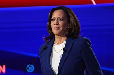 副大統領候補:カマラ・ハリス