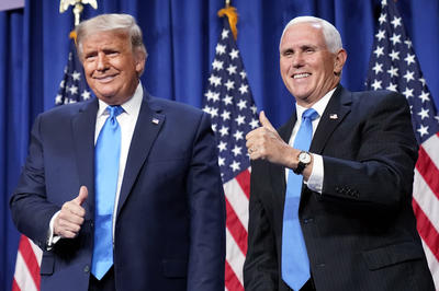 正副大統領候補:トランプ&ペンス