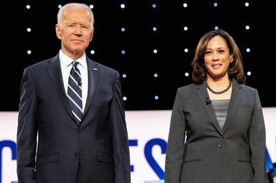 正副大統領候補:バイデン&ハリス