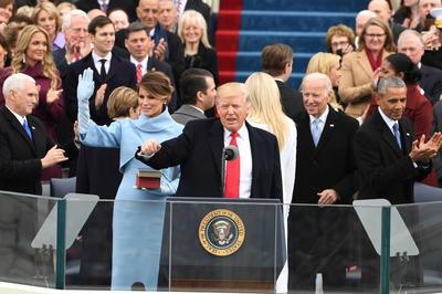 トランプ大統領 第45代米大統領就任式