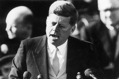 ジョン・F・ケネディ米大統領就任から60年(1961年1月20日)