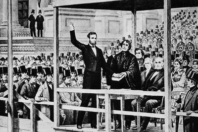 エイブラハム・リンカーン大統領就任から160年(1861年3月4日)