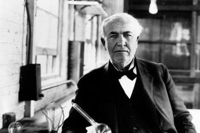 トーマス・エジソン没後90年(1931年10月18日)