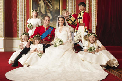 ウィリアム王子・キャサリン妃結婚から10年(2011年4月29日)