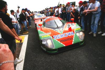 マツダ、ル・マン24時間レースで総合優勝から30年(1991年6月23日)