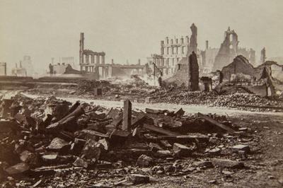 シカゴ大火から150年(1871年10月8日)