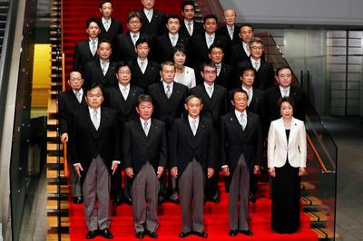 9月16日 第99代首相に菅義偉氏 新内閣が発足