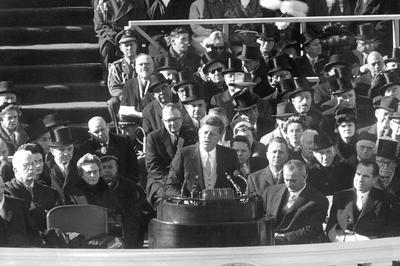 【動画】ジョン・F・ケネディ米大統領就任から60年(1961年1月20日)
