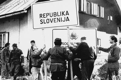 【動画】ユーゴスラビア紛争開戦から30年(1991年6月27日)