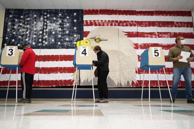 11月3日 2020年米大統領選挙 投票日