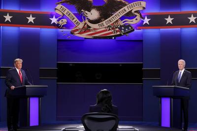 大統領候補 最後の討論会
