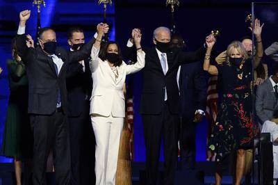 11月7日 2020年米大統領選挙 バイデン氏が勝利宣言