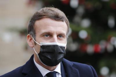 仏マクロン大統領 コロナ陽性
