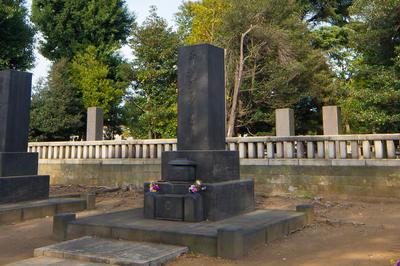 渋沢栄一の墓
