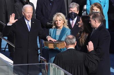 第46代アメリカ大統領就任式