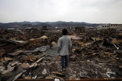 AP通信が撮影した震災