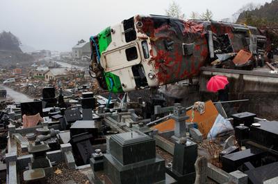 AFP通信が撮影した震災