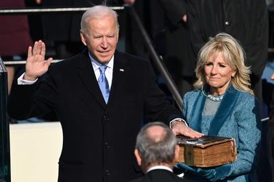 1月20日 バイデン米新大統領が就任式
