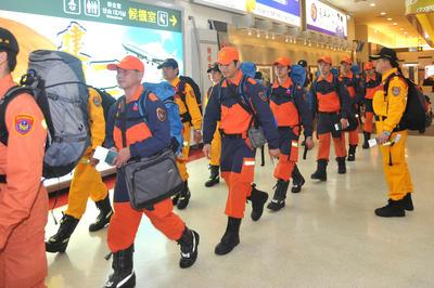 海外の救助隊