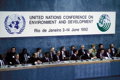 気候変動枠組条約(92年地球サミット)