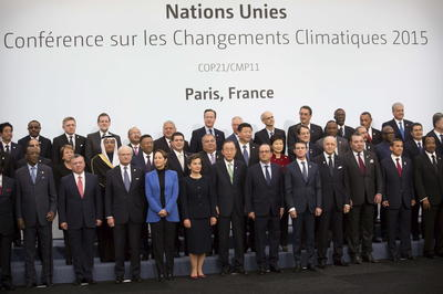 パリ協定(15年COP21)