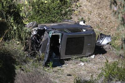 2021年 ロサンゼルス郊外で交通事故