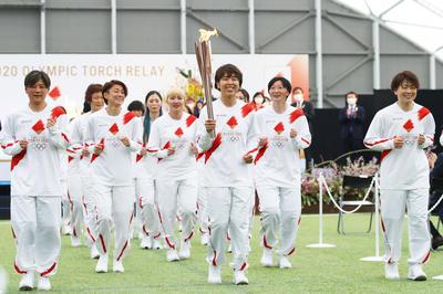 3月25日 2020東京五輪 聖火リレーがグランドスタート