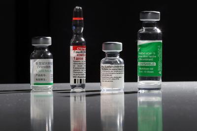 各社のワクチン容器