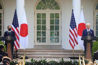 4月16日 米ワシントンで日米首脳会談 バイデン政権初の対面形式で実施
