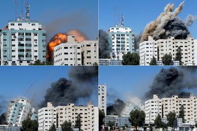 5月11日- イスラエルがガザ空爆 パレスチナ情勢が緊迫化