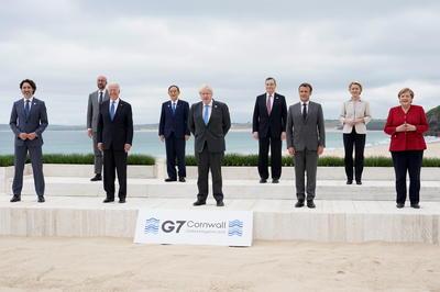 6月11-13日 英でG7首脳会議 対面形式で2年ぶりに開催