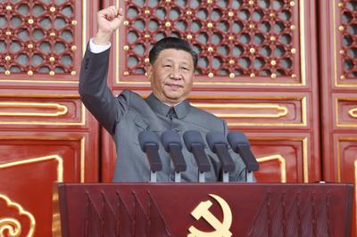7月1日 中国共産党が創設100周年で式典