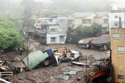 7月3日 関東・東海で記録的豪雨 熱海で土砂災害