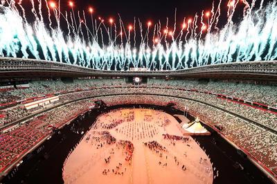 7月23日 東京2020オリンピック 国立競技場で開会式