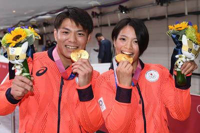 7月25日 東京2020オリンピック 阿部兄妹が揃って金メダル獲得