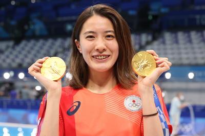 競泳・大橋悠依が日本女子競泳史上初の2冠獲得