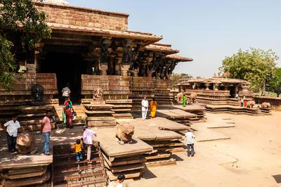 テランガーナ州のカーカティーヤ・ルドレシュワラ(ラマッパ)寺院(インド)