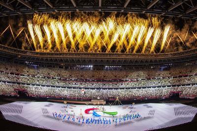 8月24日 東京2020パラリンピック 国立競技場で開会式