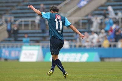 J2磐田戦で約1年3ヵ月ぶりとなるゴール