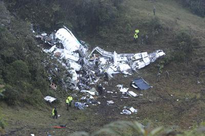 墜落事故の現場