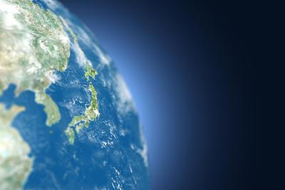 CGで描かれた地球