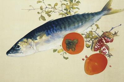 秋を感じる食の絵画
